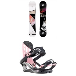 Juniorský snowboard set K2 Kandi + Kat 2020