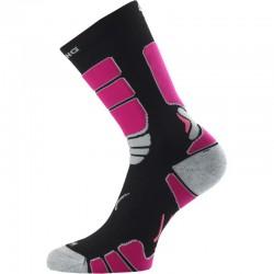 Inline ponožka Lasting černo-růžová 2020