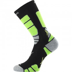 Inline ponožka Lasting černo-zelená 2020