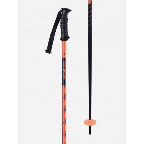 K2 Power Aluminium orange lyžařské hůlky 2020/21