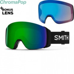 Snowboardové brýle Smith 4D Mag 2020/21 - ChromaPop Everyday Green