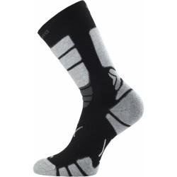 Inline ponožka Lasting černo-šedá