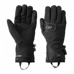 Oberland Heated Gloves - black/charcoal
